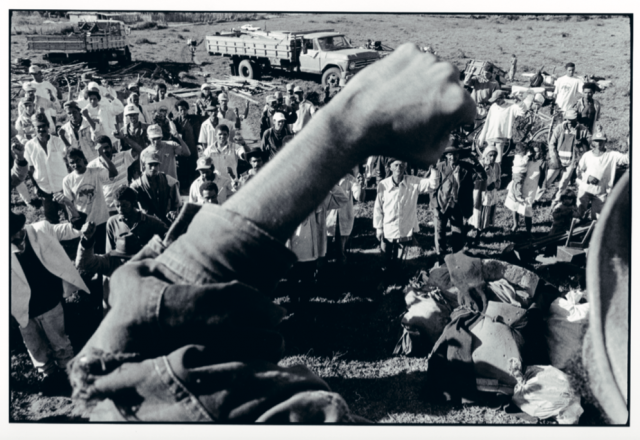Foto: Rune Eraker, fra De jordløses bevegelses landokkupasjon i den brasilianske delstaten Bahia i 1997