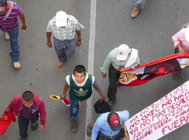Foto: Vilma Taubo, Marcha de la Dignidad, Guatemala 2019