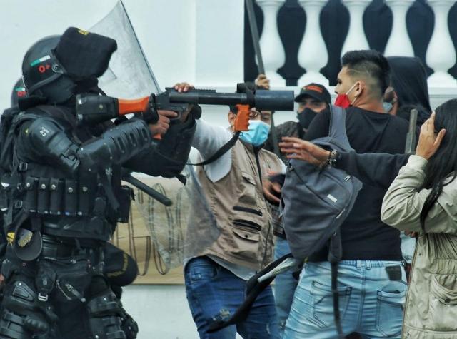 Foto: Paro Nacional Indefinido Colombia 2021