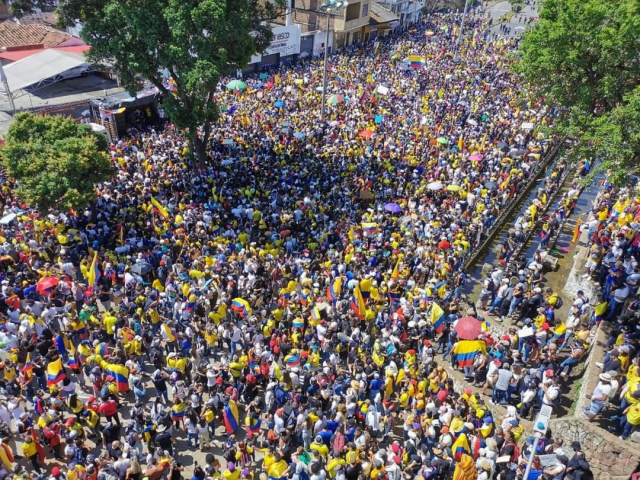 Foto: Foto: Paro Nacional Indefinido Colombia 2021